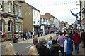 SE3557 : High Street during the Bed Race by DS Pugh