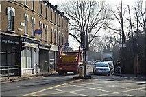 TQ1977 : South Circular Road / Kew Road junction by N Chadwick