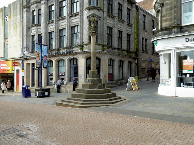 Market Cross, Dunfermline High Street
