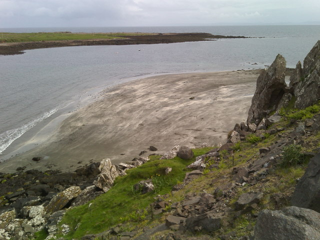 Beach north of Staffin