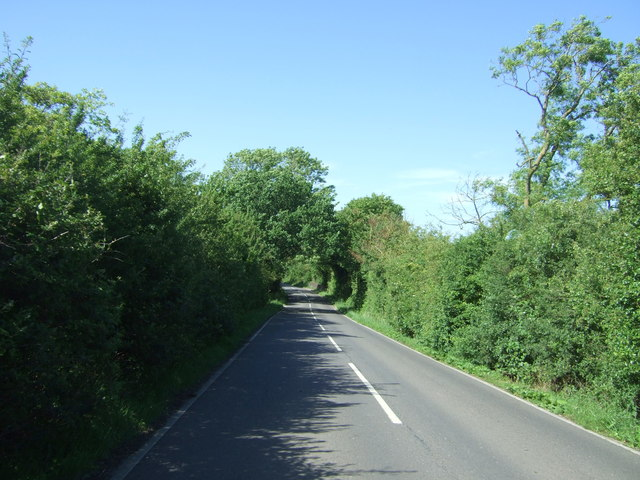 Barton Road towards Cambridge