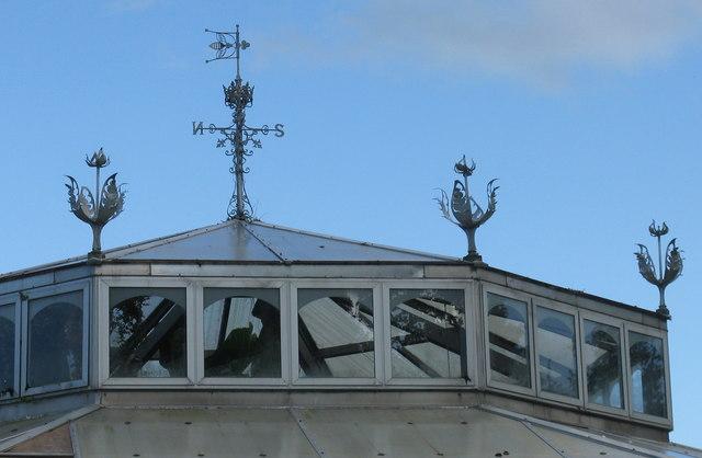 Glasshouse at Mount Stuart [detail]