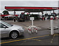 ST2078 : Texaco filling station, Newport Road, Cardiff by Jaggery