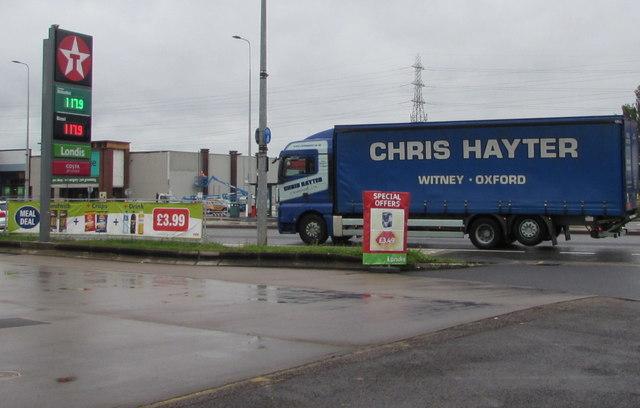 Chris Hayter lorry, Newport Road, Cardiff
