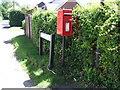 TL2743 : Elizabeth II postbox, Guilden Morden by JThomas
