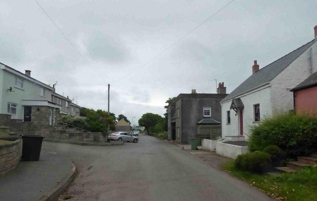 Angle village architecture