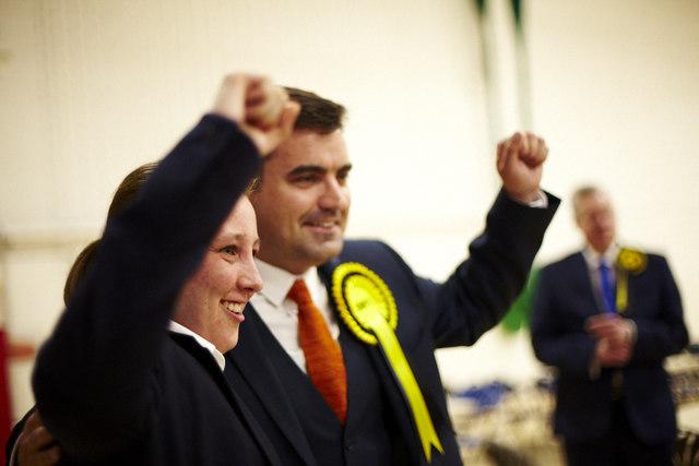 Mhairi Black and Gavin Newlands SNP win