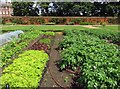 TQ1772 : Vegetable beds in the Kitchen Garden by Steve Daniels