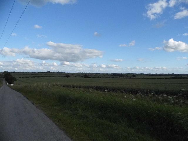Fields by Mickle Hill, Keyston