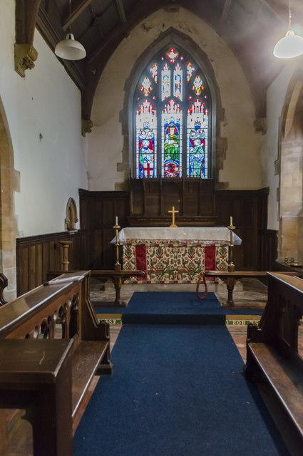 Chancel, St Michael and All Angels church, Mavis Enderby