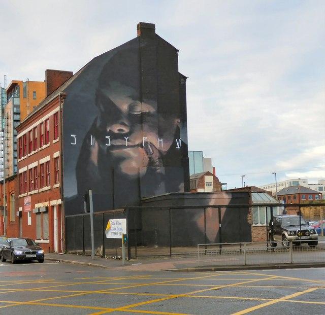 Mural on Addington Street