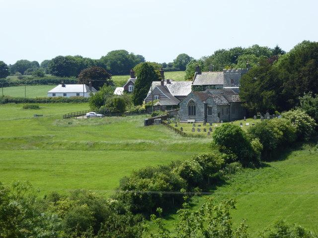 Dewlish Church and surrounds