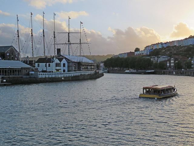 Bristol: Brunel's ship and a pleasure boat
