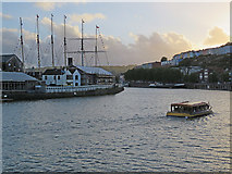 ST5772 : Bristol: Brunel's ship and a pleasure boat by John Sutton