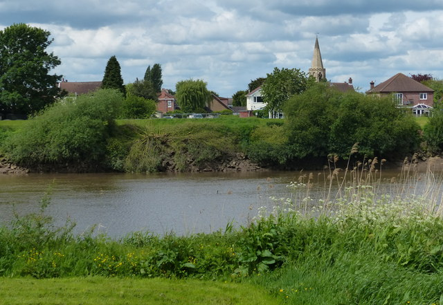 West Butterwick and the River Trent