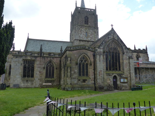 The Church of St Mary Wirksworth