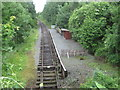 SJ2722 : Pen-y-Garreg Lane Halt railway station, Shropshire by Nigel Thompson