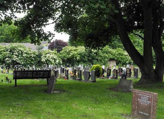 Gravestones at Christ Church