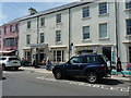 SN1304 : The former Cambrian Hotel building in Saundersfoot by Richard Law