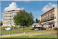 TQ4669 : Swanscombe House and Haverstock Court shops by Ian Capper