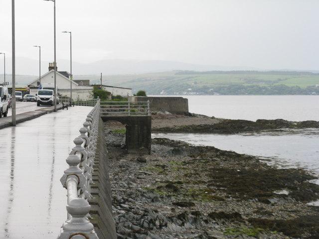 The shore at Kirn