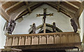 TF3666 : Rood loft, St Michael and All Angels church, Mavis Enderby by Julian P Guffogg