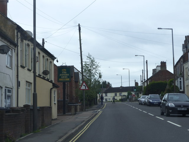 A511 Woodville High Street