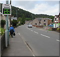 SO2813 : Your speed indicator, Merthyr Road, Llanfoist by Jaggery