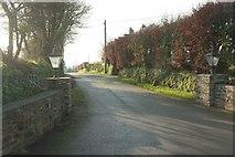 SW9843 : Entrance to Tregarton Park by Derek Harper