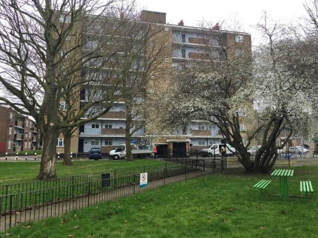 Lansdown House, Crawford Estate, Camberwell, south London