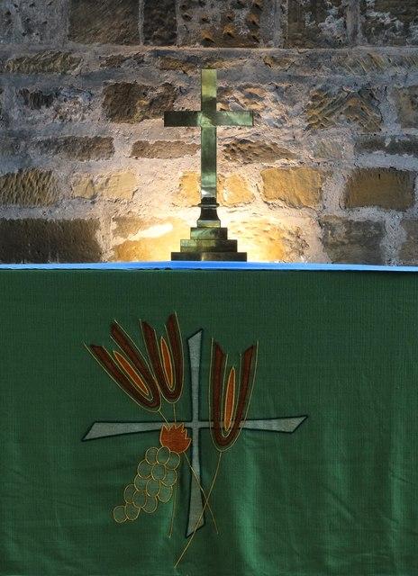 The altar, St Nicholas's Church, Guisborough