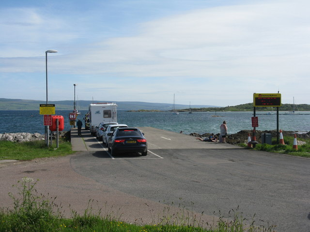 Waiting for the ferry on Gigha