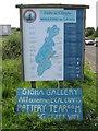 NR6549 : Fàilte do Ghiogha - Welcome to Gigha by M J Richardson