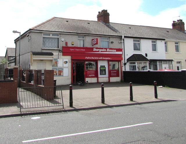 Bargain Booze, Tremorfa, Cardiff