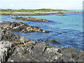 NR6549 : Low tide at Gigha ferry terminal by M J Richardson