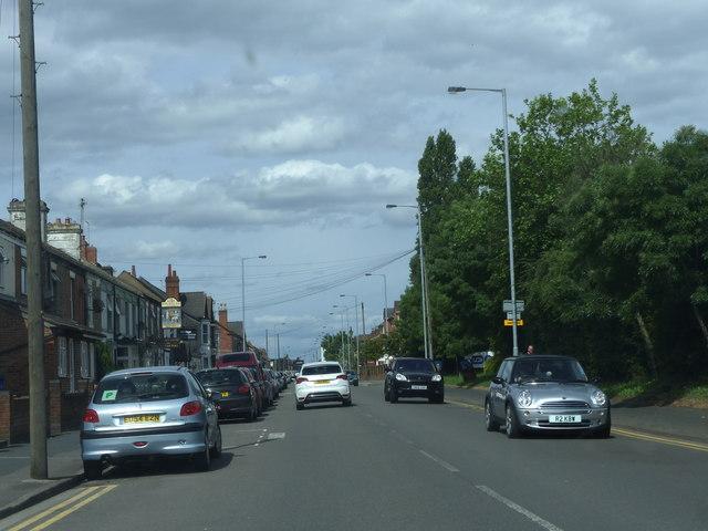 Burton upon Trent Derby Street