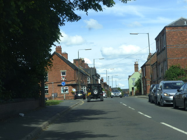 Station Street A515 Ashbourne