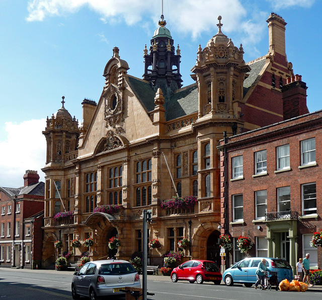 Town Hall, St Owen's Street, Hereford