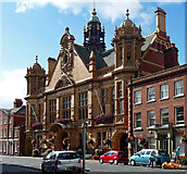SO5139 : Town Hall, St Owen's Street, Hereford by Stephen Richards