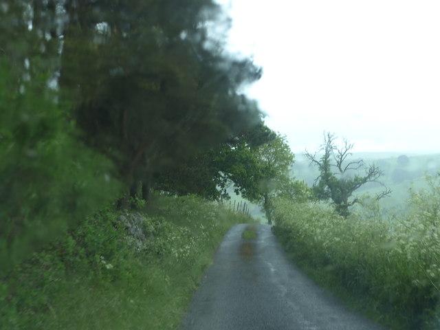 Mawstone Lane heavy shower