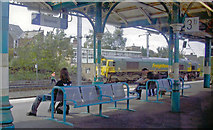 TM1543 : Platform scene at Ipswich station, 2006 by Ben Brooksbank