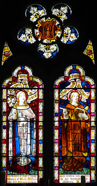 St Peter, Wimblington - Stained glass window