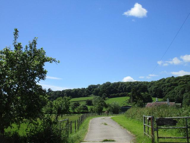 Entrance to Monk Hill Farm
