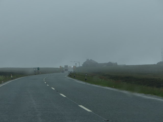 Approaching the Cat and Fiddle Inn