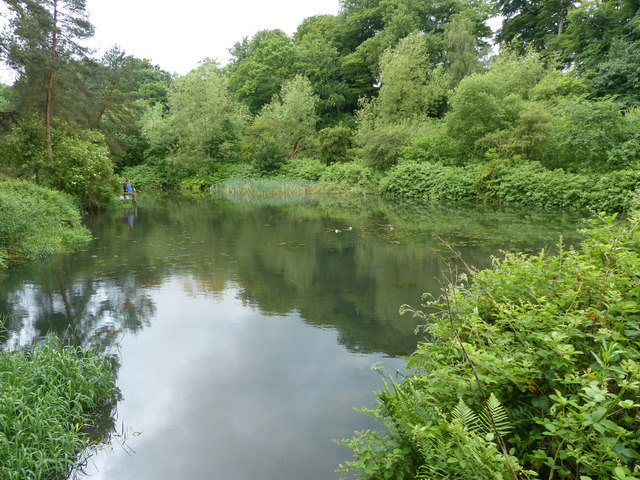 Quarry Bank Mill millpond