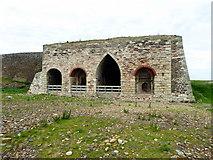 NU1341 : Lime Kiln, Lindisfarne by PAUL FARMER
