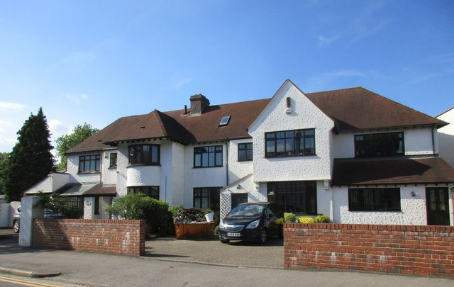 Houses on Andover Road, Cheltenham