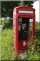 SN0638 : Decommissioned telephone box, Ffordd Cilgwyn, Newport / Trefdraeth by Christopher Hilton