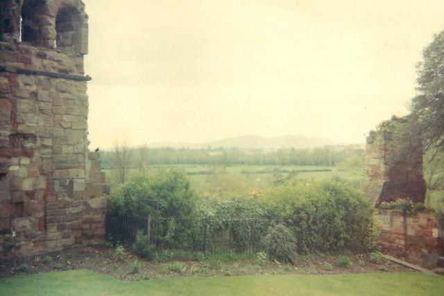 Monastic ruins at Worcester