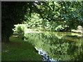 TM0242 : The River Brett at Hadleigh by Chris Holifield